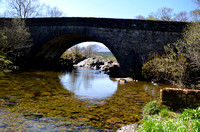 Ancient stone bridges are common and still in use