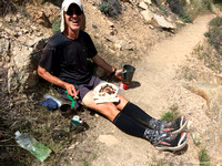 Trail Lunch in the Sierras