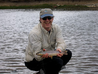 All the way to Argentina for a brown trout